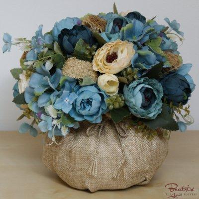 Hortensia albastra
