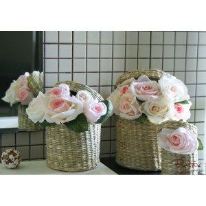 Imbratisarea trandafirilor roz